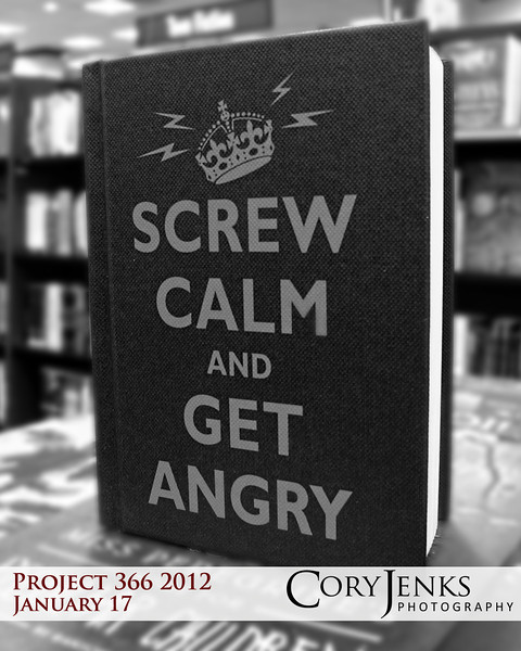 Project 366: January 17 - Get Angry. Sometimes angry is an appropriate emotion.