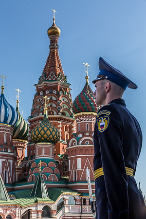 Soldier Guarding the Kremlin
