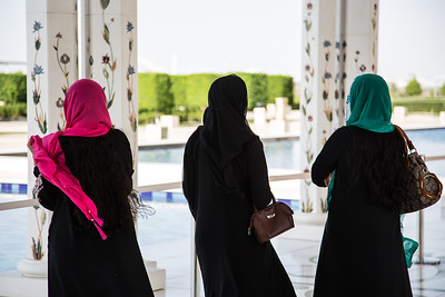 Three Sisters, Sheikh Zayed Grand Mosque, Abu Dhabi