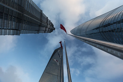 Three of the Tallest Buildings in China