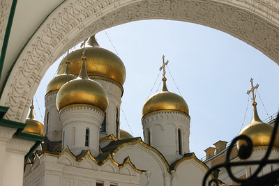 The Cathedral of the Annunciation, Kremlin Palace, Moscow