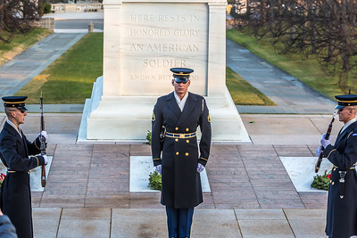 Tomb of the The Unknown Soldier, Arlington National Cemetary