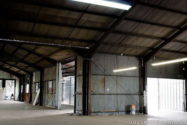 Preliminary photos of 3201 Maple Ave -- future Project Infest Warehouse.