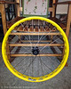 Complete front wheel