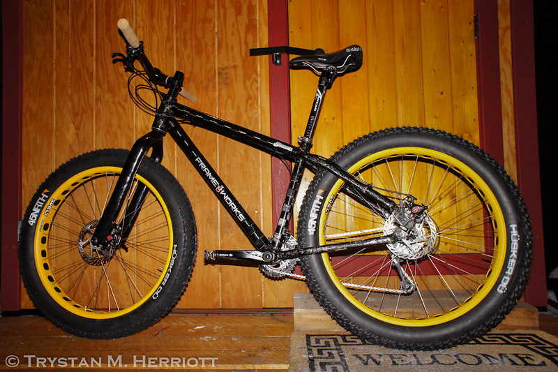 """Does my bike make my house look fat?"""