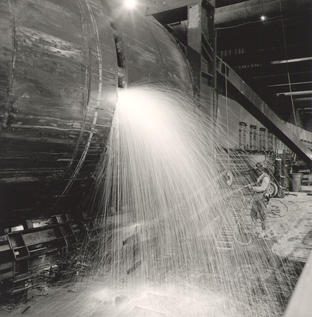 Disassembling Tunnel Segment prior to Launch TBM (Photo credit: Ken Karagozian)