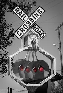 Railroad Crossing Orange Empire Railway Museum, Perris, CA