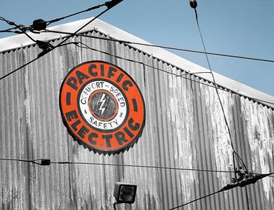 Pacific Electric car house Orange Empire Railway Museum, Perris, CA