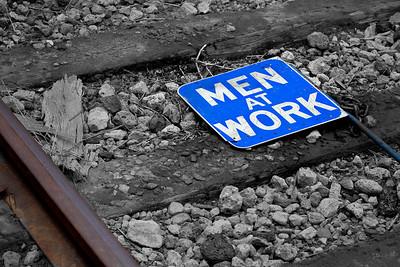 Men at work? Orange Empire Railway Museum, Perris, CA