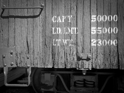 Historic boxcar detail