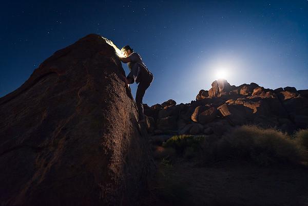 Barefoot Bouldering