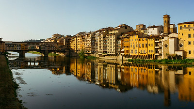 Dawn at ponte Vecchio, Firenze