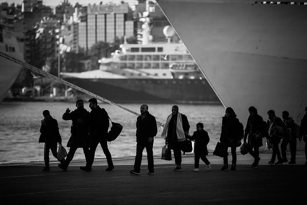 Piraeus, Athens, Greece. October 2015.<br /> -------<br /> Port du Pirée, Grèce. Octobre 2015.