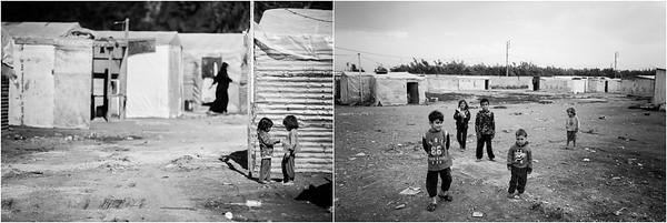 2015/2017 Refugee camp in Akkar district, Lebanon. ------ Camp de réfugiés du district d'Akkar, Liban.