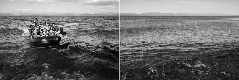 2015/2017 Aegean sea and the shores of Lesvos Island, Greece. ------ La Mer Égée et les plages de l'ile de Lesbos, Grèce.