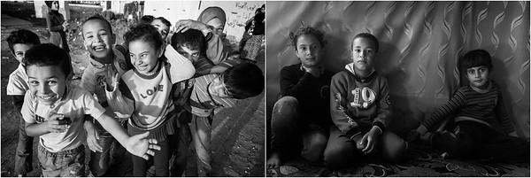 2015/2017 Refugee camp in Bekaa Valley, Lebanon. ------ Camp de réfugiés de la Vallée de la Bekaa, Liban.