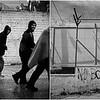 2015/2017<br /> Refugee camp and registration desk of Moria. Lesvos Island, Greece.<br /> ------<br /> Camp de réfugiés et bureau d'enregistrement de Moria. Ile de Lesbos, Grèce.