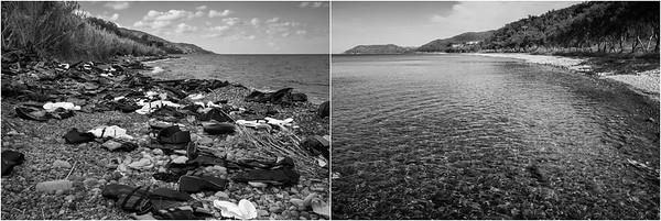 2015/2017 Shores of Lesvos Island, Greece. ------ Les plages de l'ile de Lesbos, Grèce.