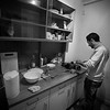 Refugees live up to three together with others from their countries and can finally live a more normal life. Just being able to cook for yourself or have a place to call home was something crucially missing for them. Eberswalde, Germany. November 2015