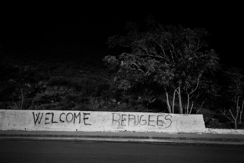 Since the beginning of the crisis, Greek people have been overall very welcoming and helpful towards refugees and organizations. Volunteers initiatives have started all over the country to support refugees.<br /> <br /> Lesvos Island, Greece. June 2016