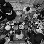 Ramadan in exile. Kara Tepe camp, Lesvos Island, Greece. June 2016