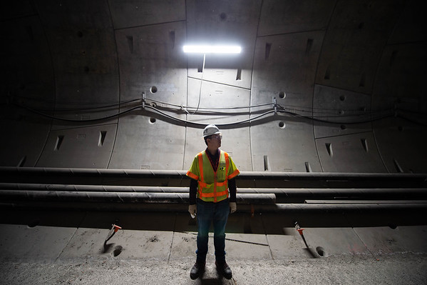 Regional Connector tunnel tour