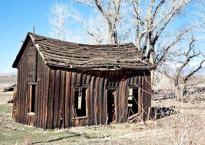 Empty, Abandoned Cabin