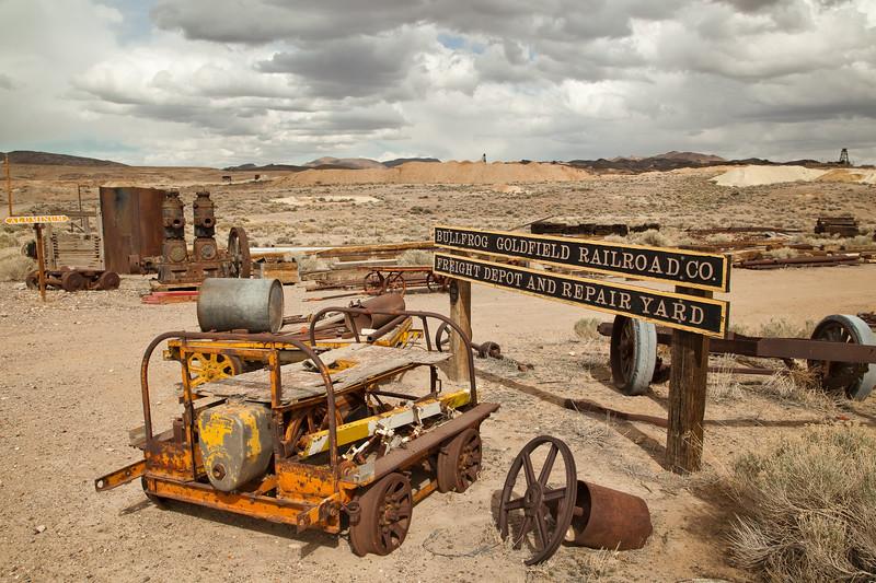 Goldfield Rail Yard Relics