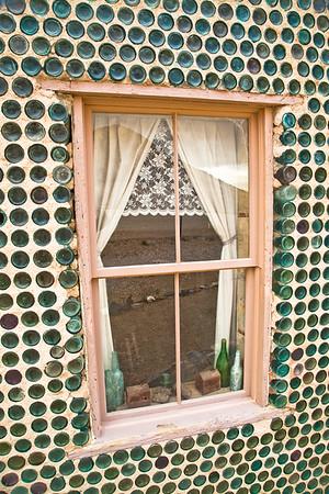 Bottle House Reflection