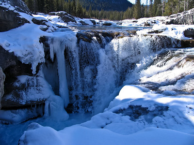 Elbow Falls, on the Elbow River, near Bragg Creek.