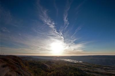 Sunrise, Dry Island Buffalo Jump
