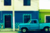 Viejo Paseo en Azul