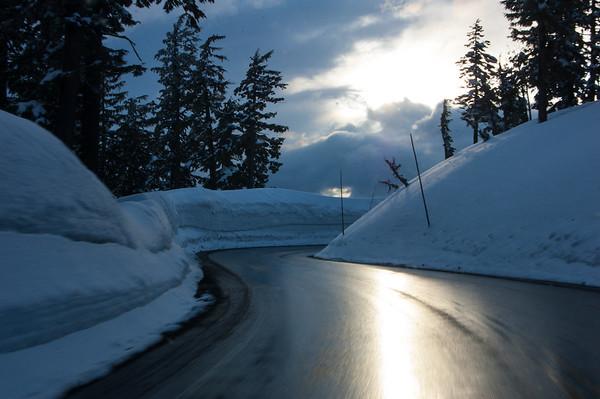 Deep Snow Road