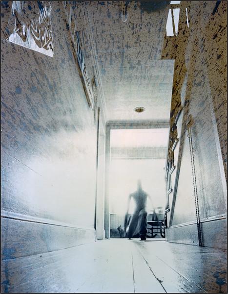 Nova, B&W film, Potasium bleached, selective redevelpoment, selenium toned, 1979