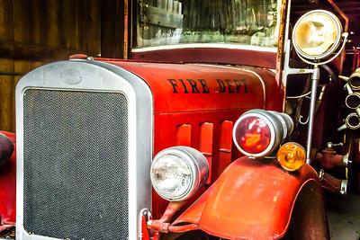 Rusty - -029 1933 Hann Fire Truck
