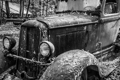 Rusty - 032 Motor Nature Trail Dodge (B&W)
