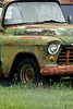 Chevorlet 1956 rusty green