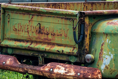 Rusty - 018 Chevorlet 1956 Rusty Tailgate