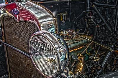 Rusty - 028 Ford 1931 Model A Engine