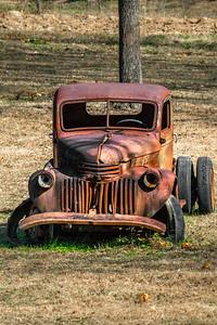 Rusty - 030 Sad Rusty Truck