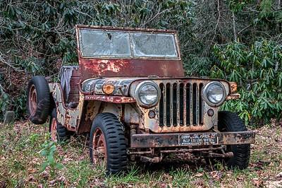 Rusty - 034 Willys Jeep Study 01