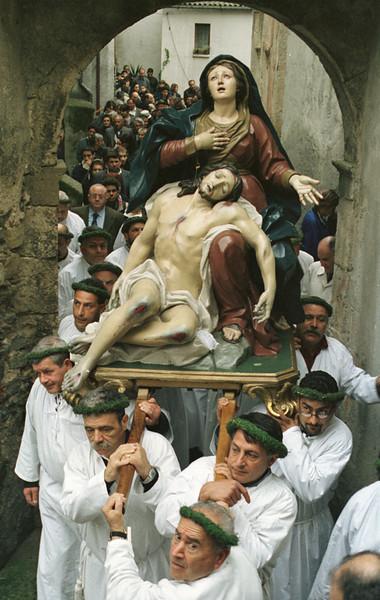 """The """"Vattienti"""" of Nocera Terinese in Calabria Region, Italy.<br /> <br /> © Laura Razzano"""