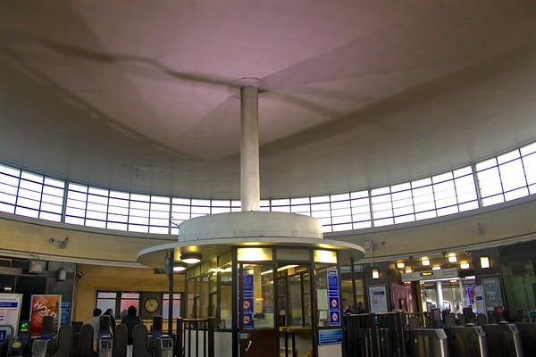 indide tube entrance