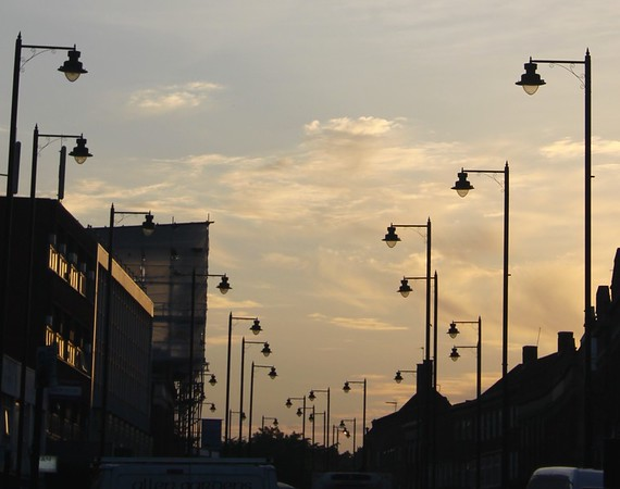 streetlights of Southgate