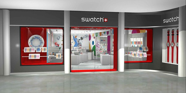 SWATCH USA - World Trade Center OCULUS