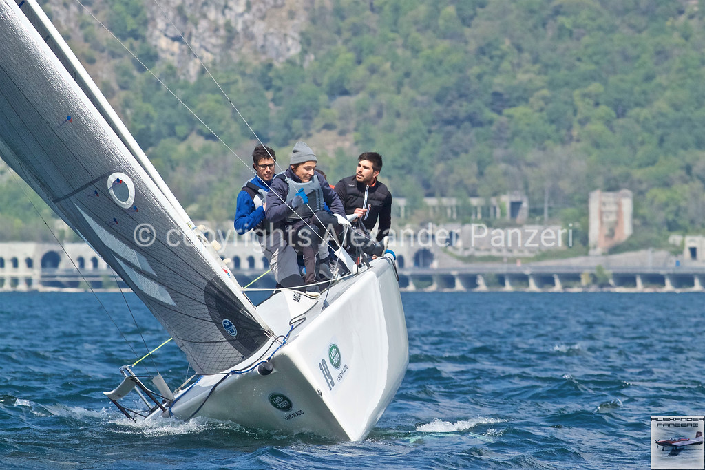 ORC: The young team on the Melges 24 ITA-122 Neghene'. copyright © photo Alexander Panzeri