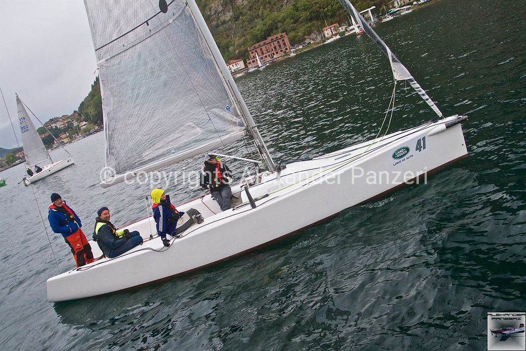 "ORC: OCEsse ITA-72, the Esse850 with ""star"" sailors on board. copyright © photo Alexander Panzeri"