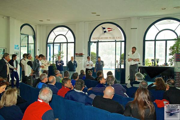 CVL 1A - Como - Presentazione e Skipper Meeting.