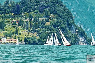 La sublime bellezza della vela e dei giardini italiani