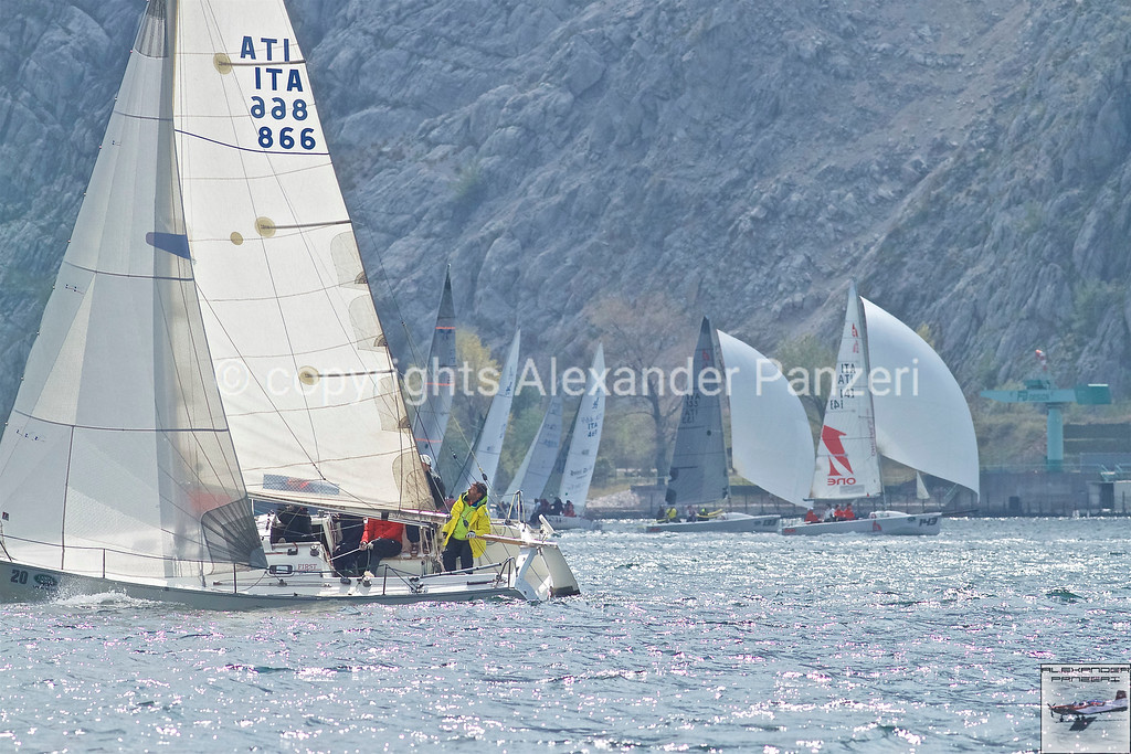 Mix of classes, ORC and H22 + J24 on background. copyright © photo Alexander Panzeri